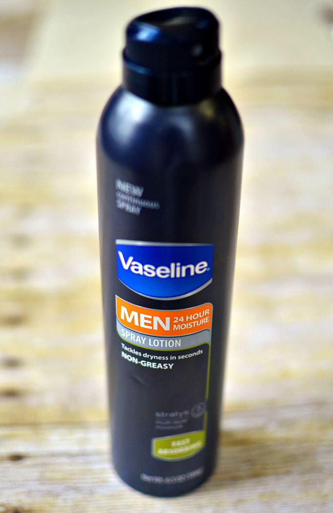Vaseline Men Spray Lotion