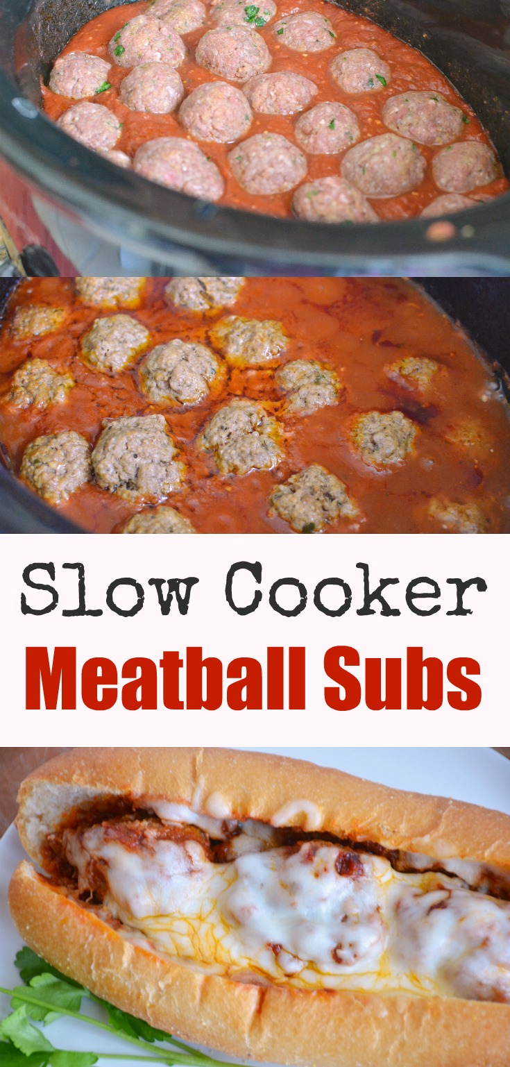 Slow Cooker Meatball Subs Recipe Rick On The Rocks