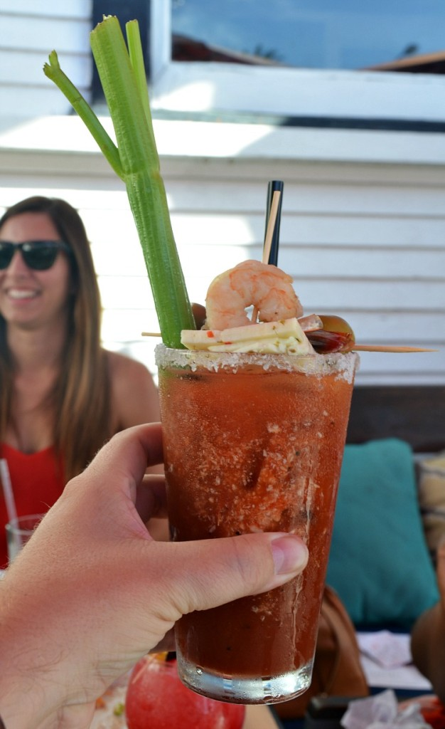 Bloody Mary's at The attic