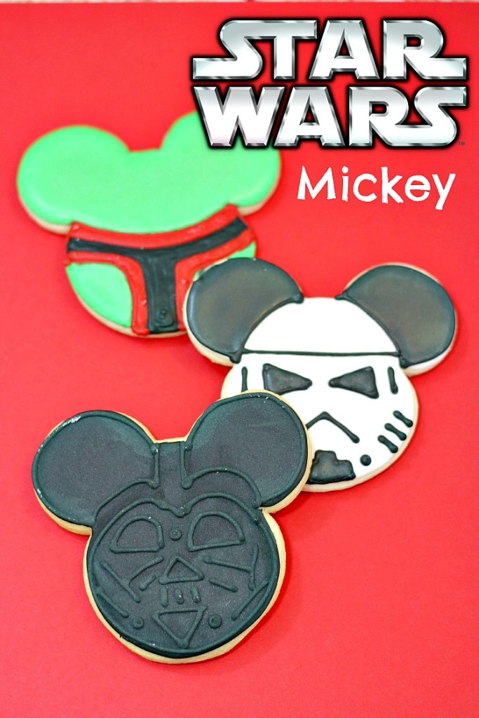 Star Wars Mickey Cookies
