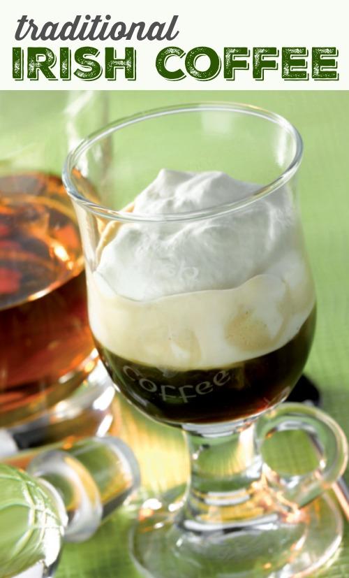 Traditional Irish Coffee Recipe