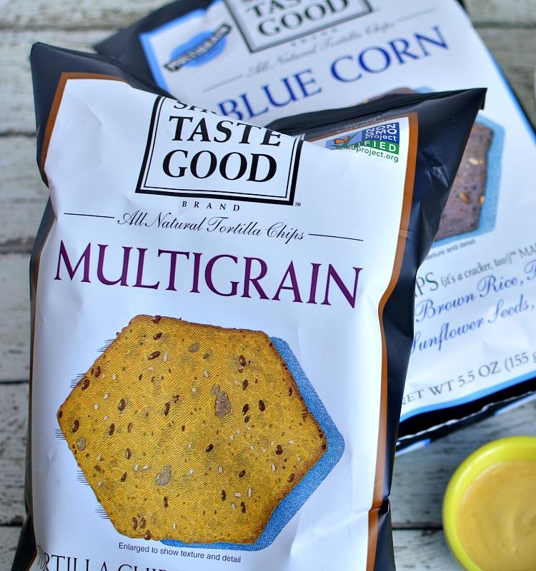Food Should Taste Good Blue Corn and Multigrain Tortilla Chips