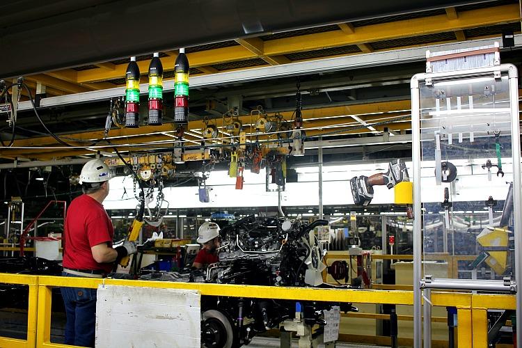 Toyota truck plant