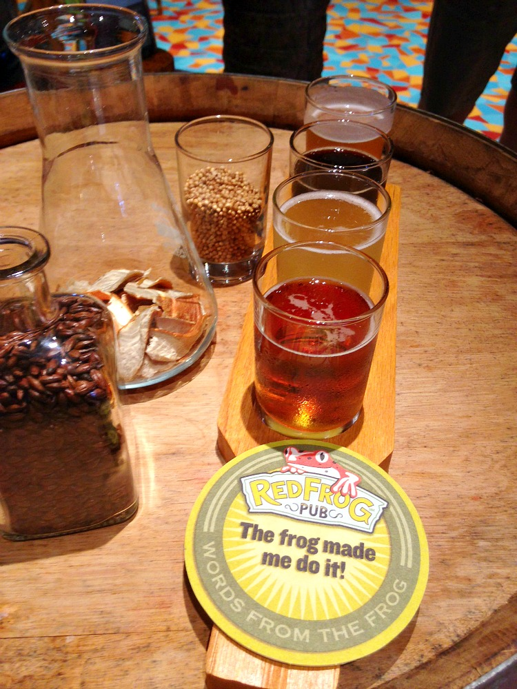 RedFrog Pub and Brewery Beer Tour Tasting