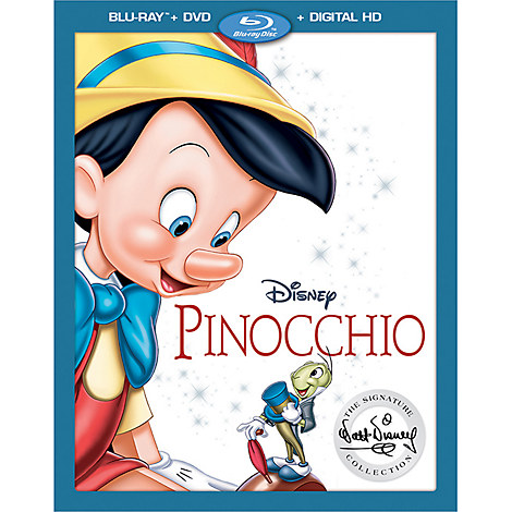 The Walt Disney Signature Collection of Pinocchio on Blu-ray and DVD