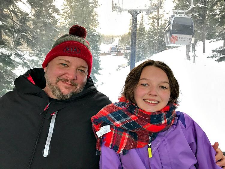 Kia Sorento Family Winter Adventure
