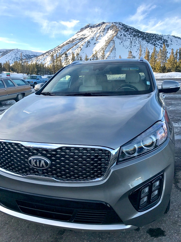 Kia Sorento Family Winter Adventure