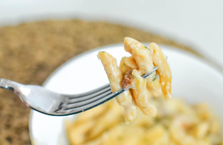 pancetta and mushroom pasta recipe