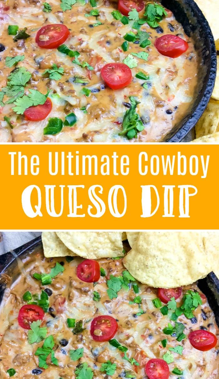 ultimate cowboy queso dip recipe