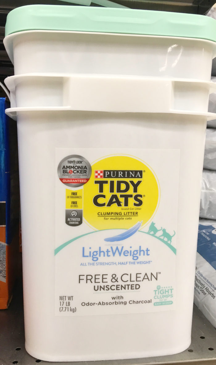 Purina® Tidy Cats® Free & Clean Unscented LightWeight Litter