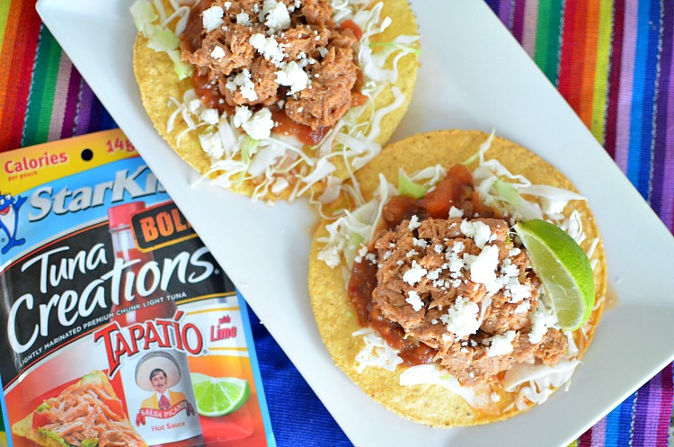 Bold Baja Tuna Tostadas