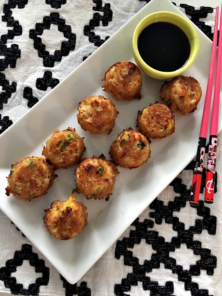 Yakitori Chicken Fried Rice Balls