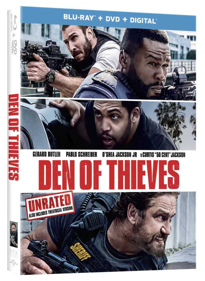 """Den of Thieves"" Blu-ray/DVD Giveaway"