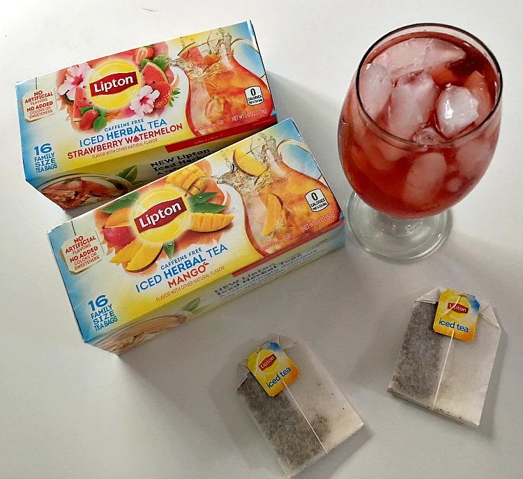 Lipton Iced Herbal Tea Bags