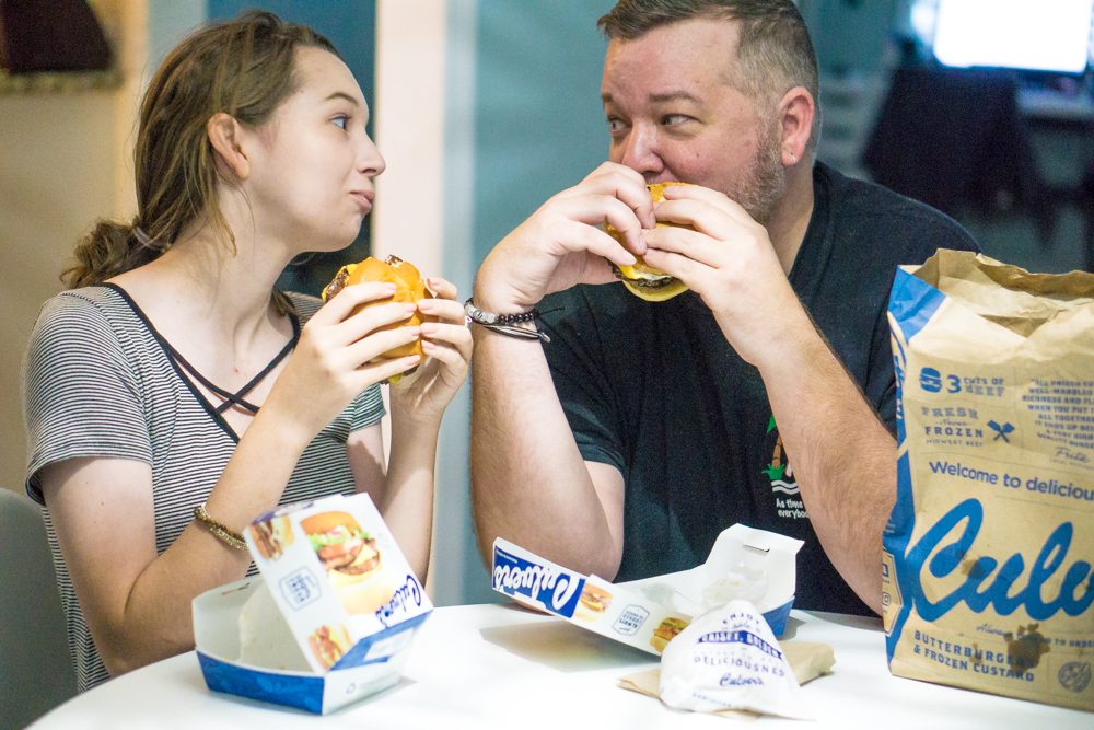 National Hamburger Month with Culver's