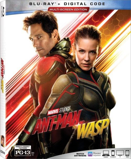 Ant-Man and The Wasp Blu-ray & Digital Copy Giveaway