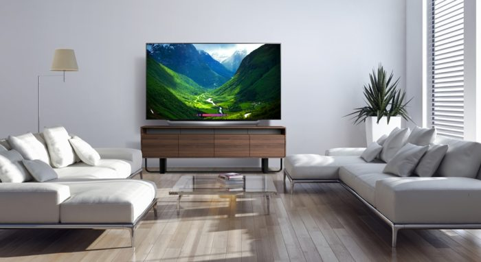 77-inch LG OLED TV