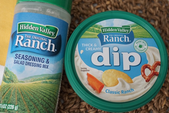 Hidden Valley Ranch Ready-to-Eat Dips and Seasoning Shakers