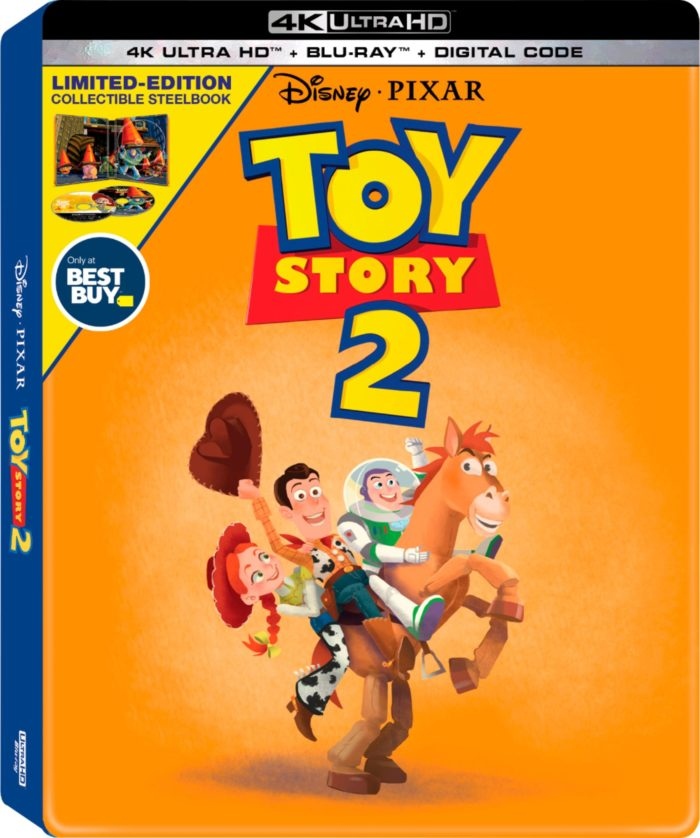 I never would have thought that I could Pre-Order Toy Story 4 4K Blu-Ray CollectiblSteelBook at @BestBuy and go see Toy Story 4 in theaters that same day!