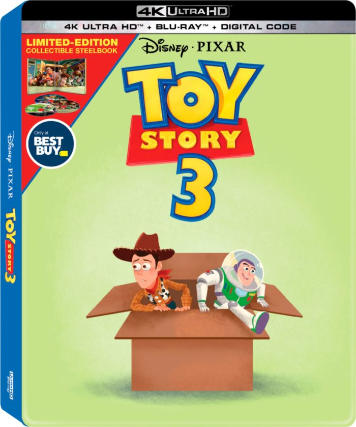 I never would have thought that I could Pre-Order Toy Story 4 4K Blu-Ray Collectible SteelBook at @BestBuy and go see Toy Story 4 in theaters that same day!