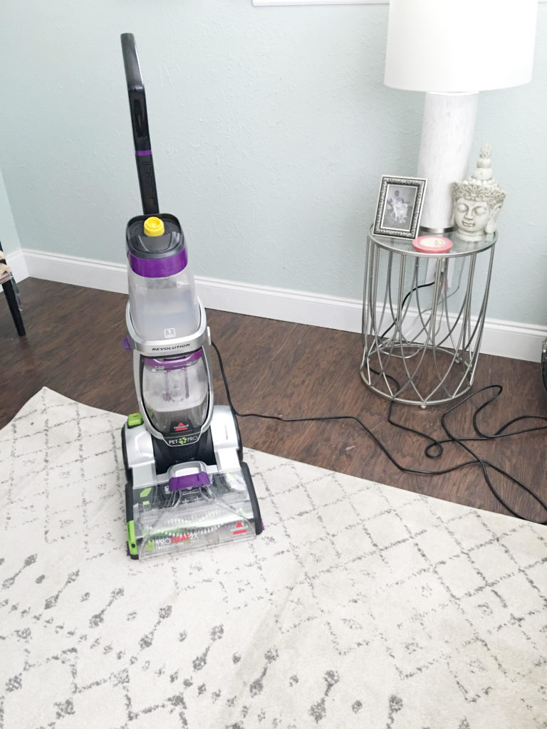 The Best Carpet Cleaner for Pet Stains - Bissell ProHeat 2X Revolution Pet Pro Upright Deep Cleaner