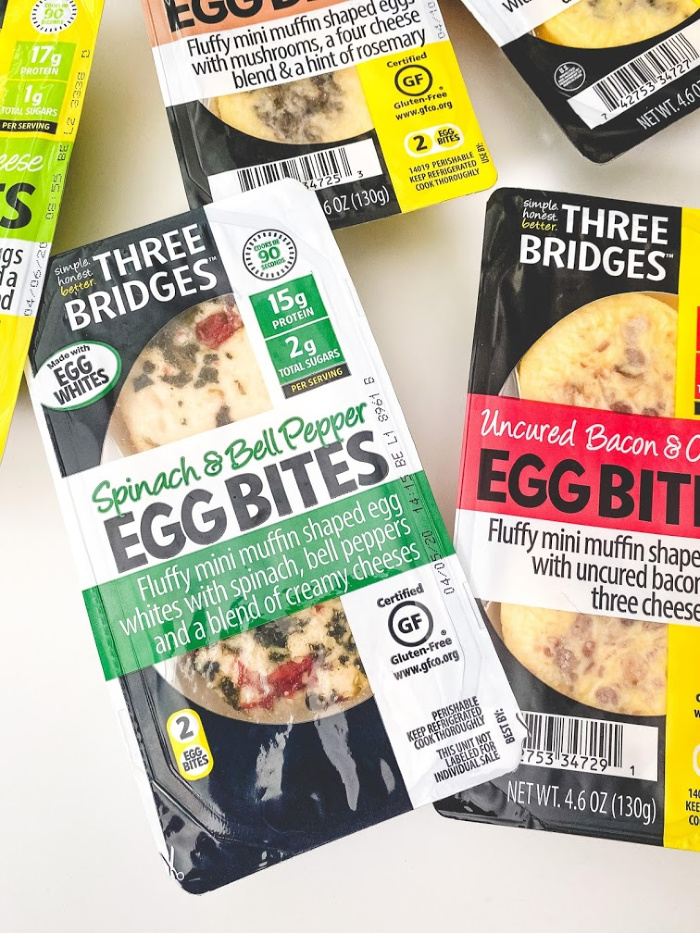 Three Bridges Egg Bites